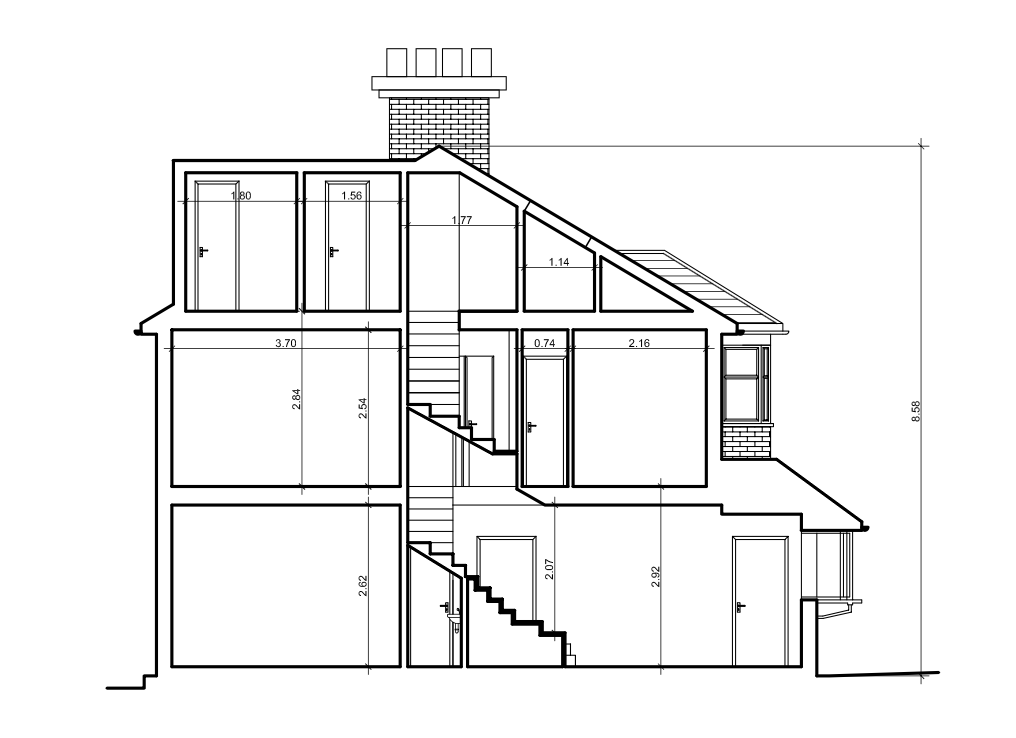 Loft conversion plans city lofts london for Loft drawings