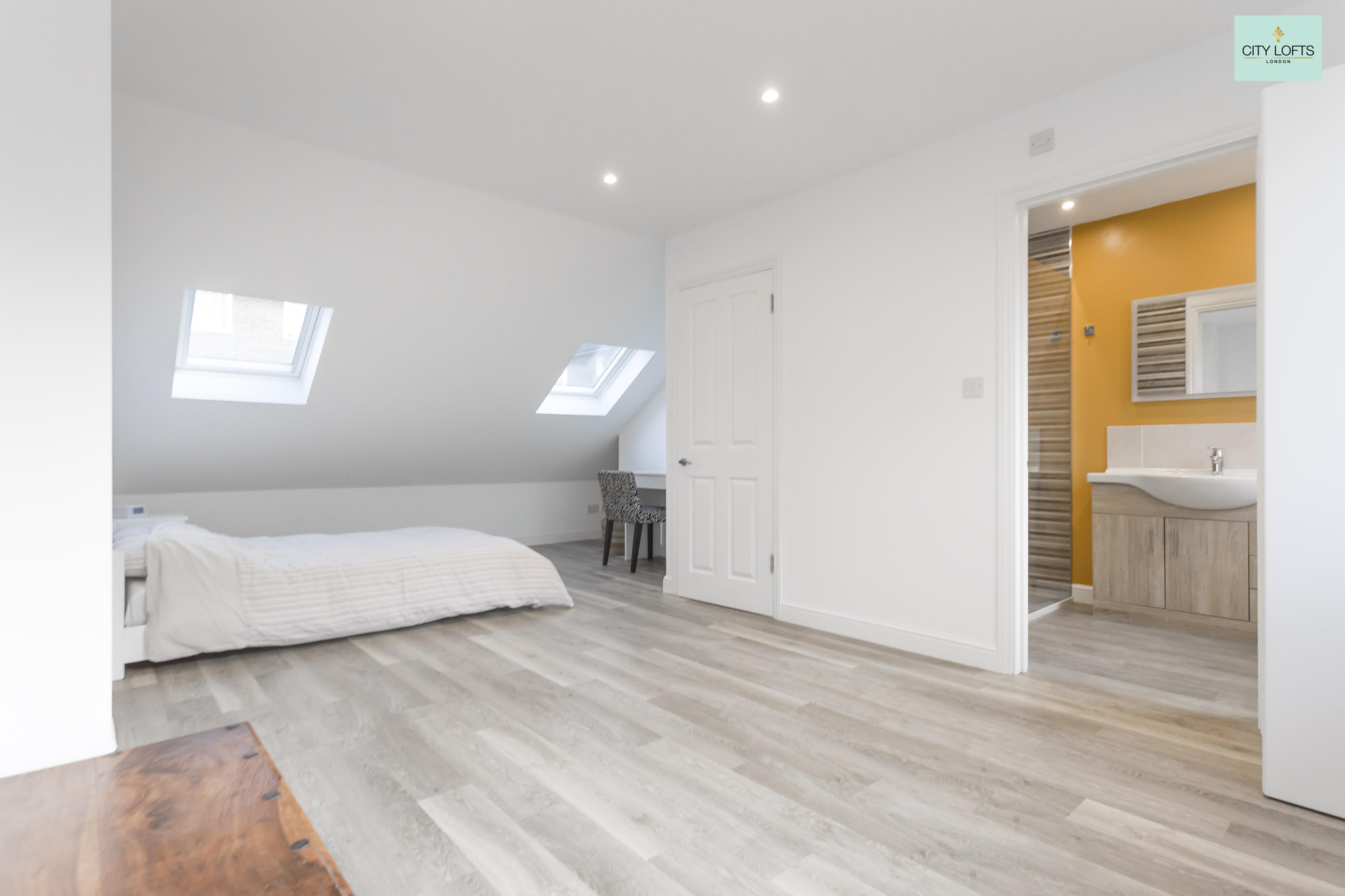 Holloway Loft Conversion Bedroom Wardrobes