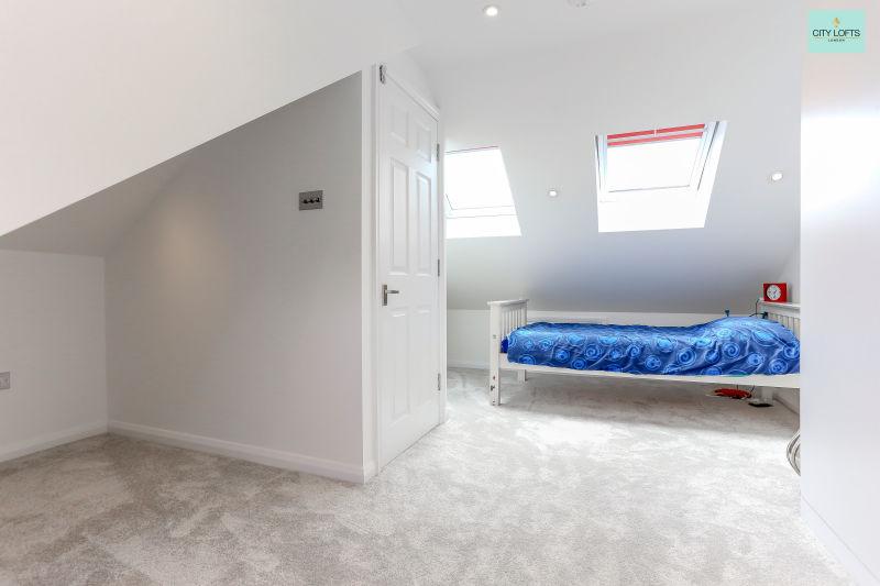 Northwood Hills Bed and Door View