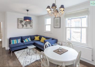 Loft Conversion Ealing London Living Room