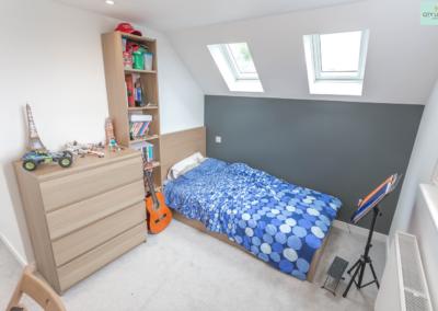 Ealing Loft Conversion Bedroom