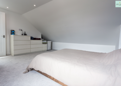 Loft conversion in Ealing (Bedroom)