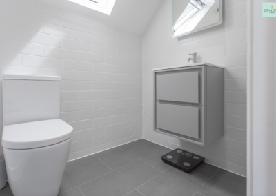 Loft conversion in Ealing (Bathroom)