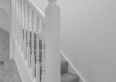 Loft conversion Ealing (Stairs)