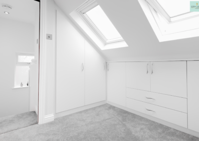 Loft conversion in Ealing (Wardrobe)