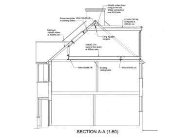 Loft Conversion in Barnet Plan