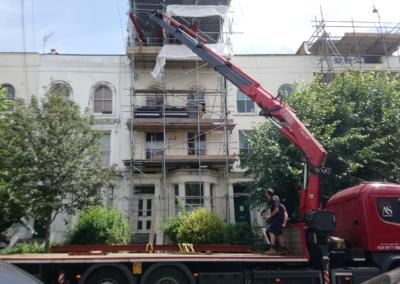 Islington loft conversion during picture