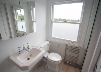 oft Conversion project Kensal Rise Bathroom