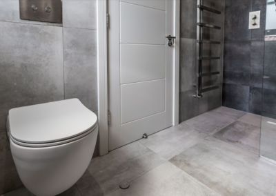 Loft conversion bathroom in West Ealing