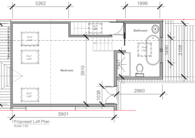 Loft Conversion in Kew Plan