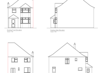 Loft Conversion in Eastcote Plan