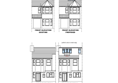Loft Conversion Woodside Park (Plan)