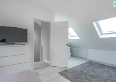 loft conversion in ruislip bedroom