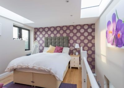 loft conversion in Staines bedroom